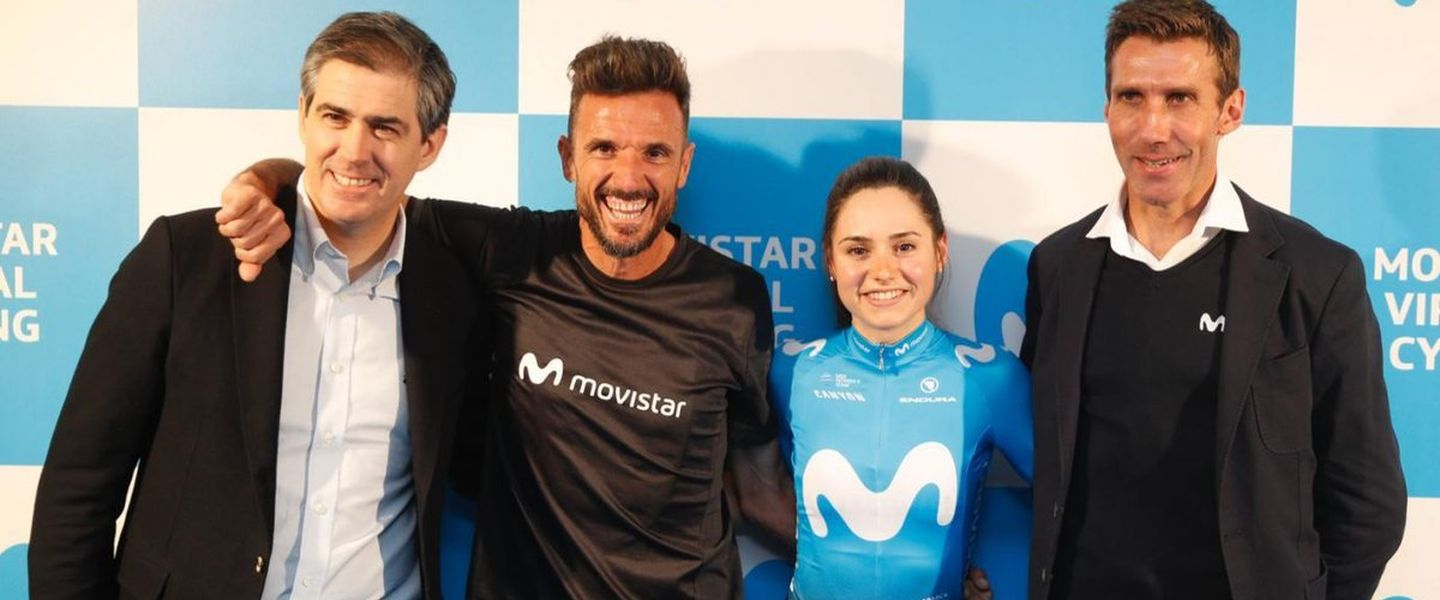 Presentación de Movistar Virtual Cycling