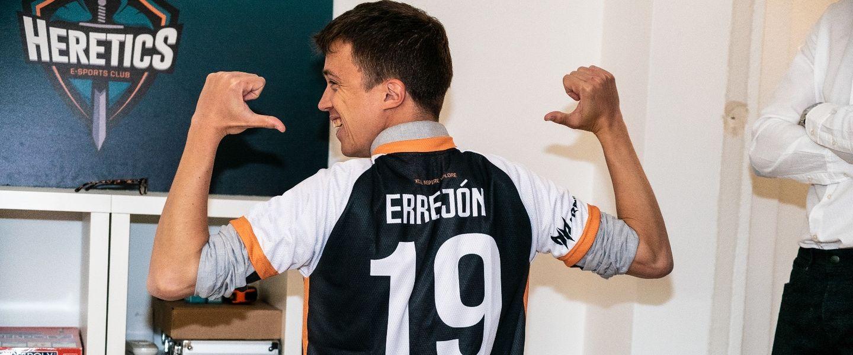 sobrino Delegación envidia  Íñigo Errejón visita la sede de Team Heretics - Movistar eSports