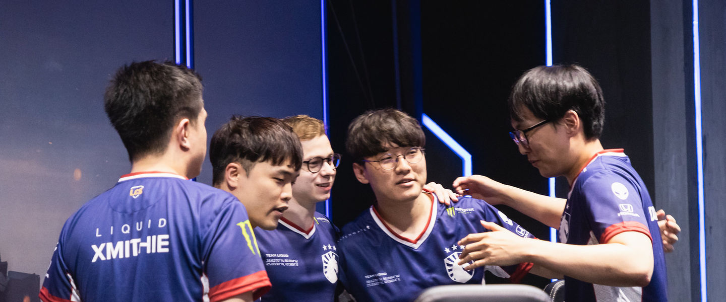 Team Liquid durante su eliminatoria ante Phong Vu Buffalo