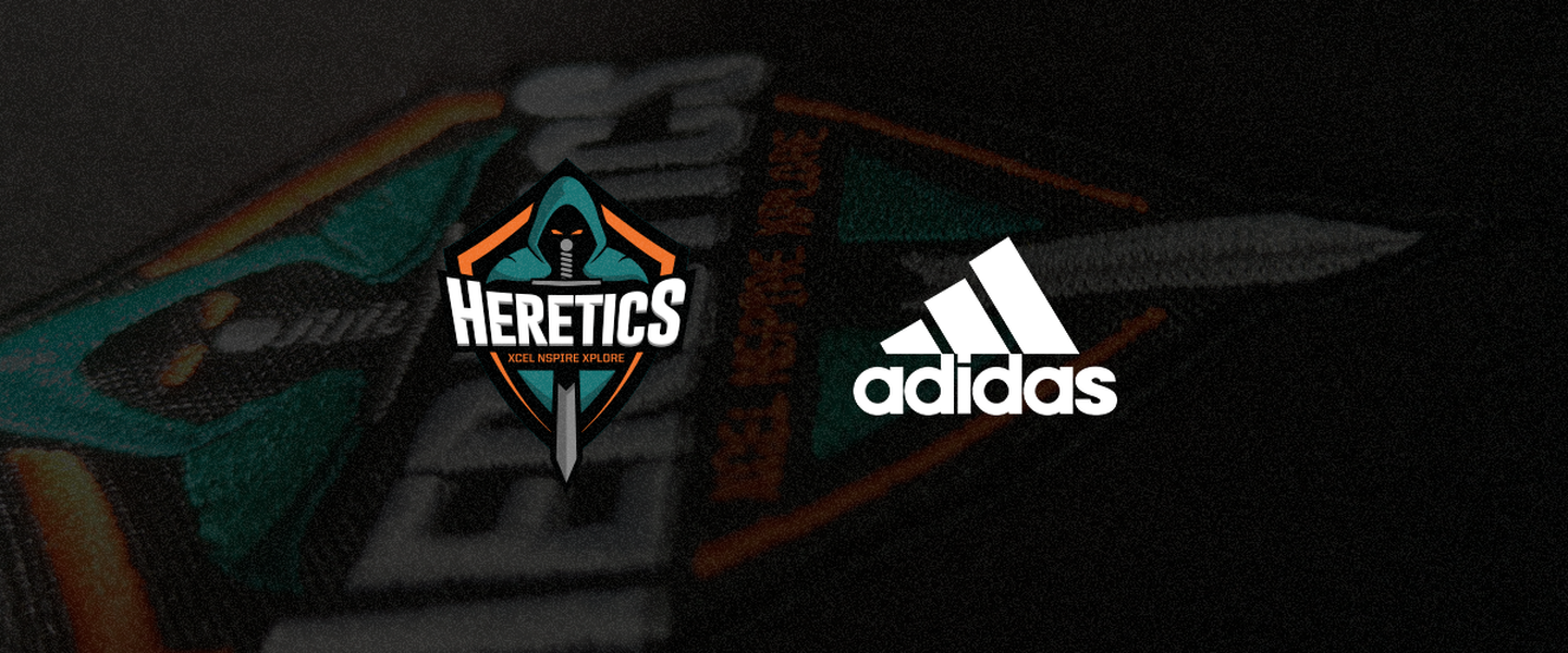 Adidas vestirá a Team Heretics