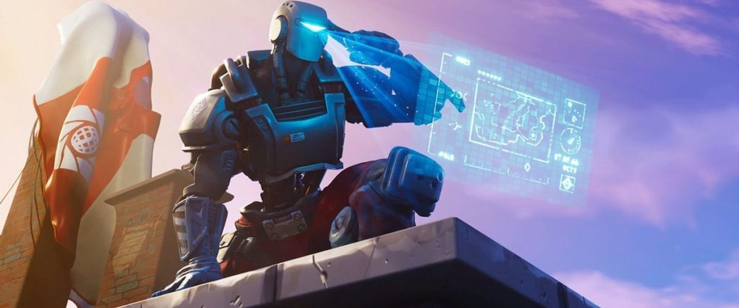 Evento de Cattus de Fortnite: el robot gigante - Movistar