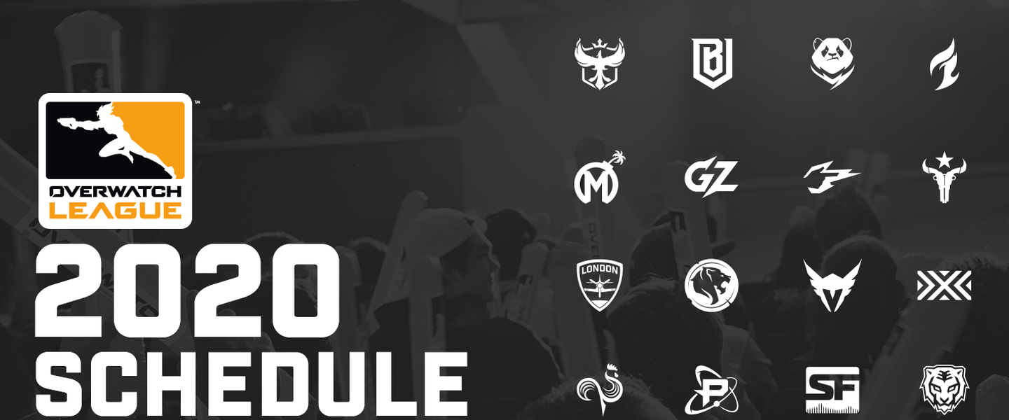 Este es el calendario de la temporada 2020 de la Overwatch League