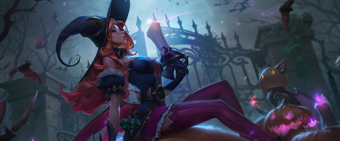 Nuevas skins de Halloween para League of Legends