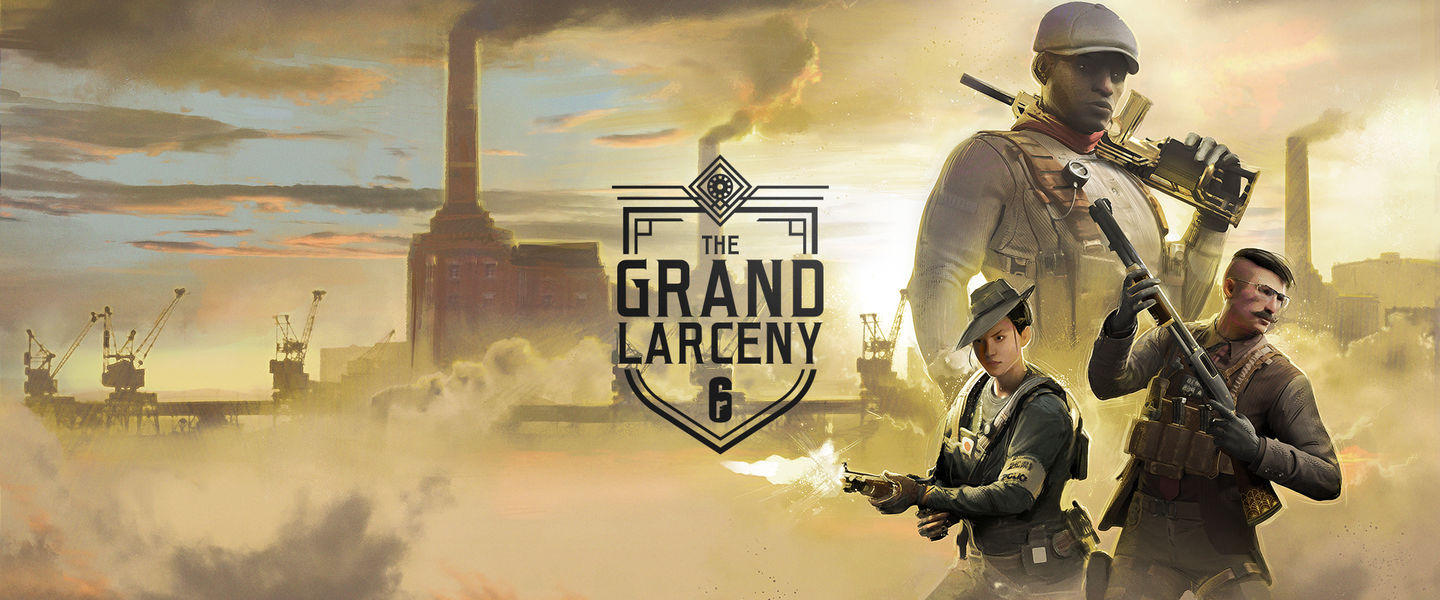 Cartel de The Grand Larceny