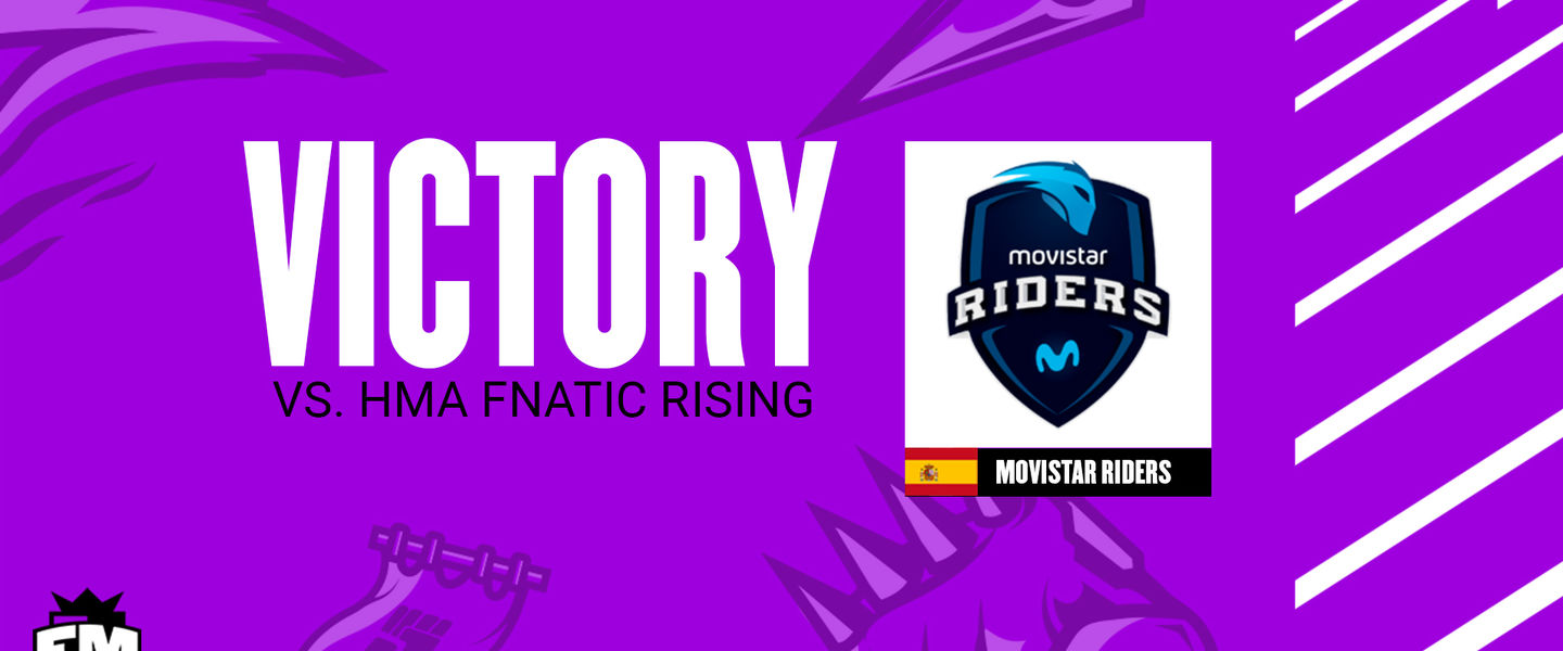 Movistar Riders se impuso 2-1 a Fnatic Rising