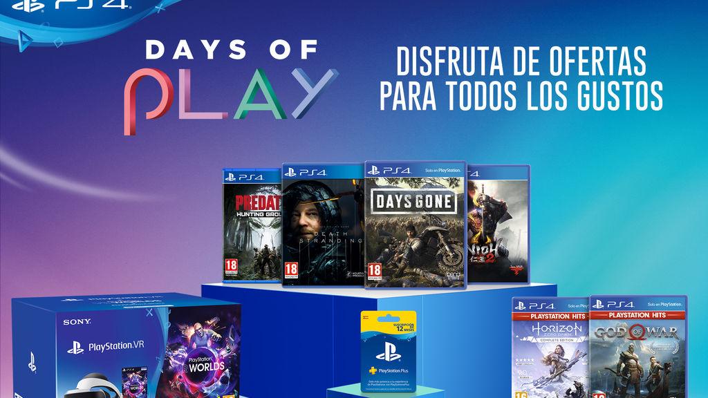 PlayStation anuncia unos nuevos 'Days of Play' cargados de ofertas