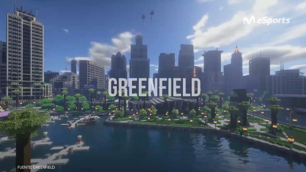 Greenfield, la ciudad de Minecraft que abre sus puertas tras diez años en construcción