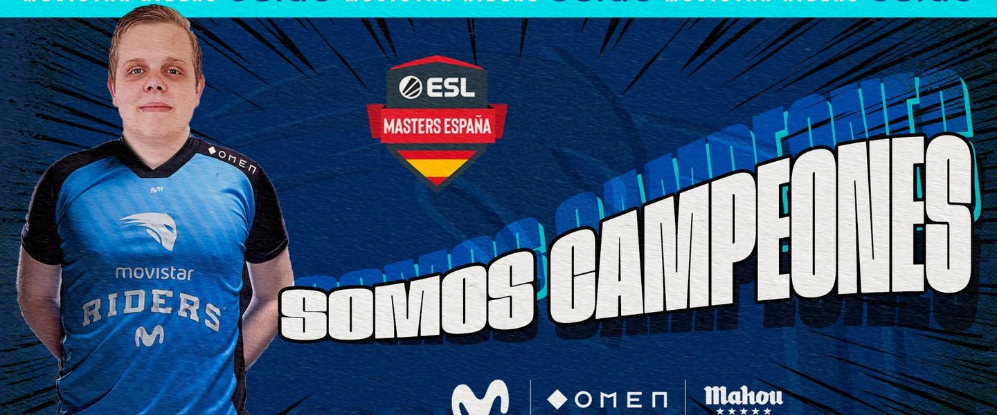 Movistar Riders ha logrado ganar la final tras un tercer mapa épico