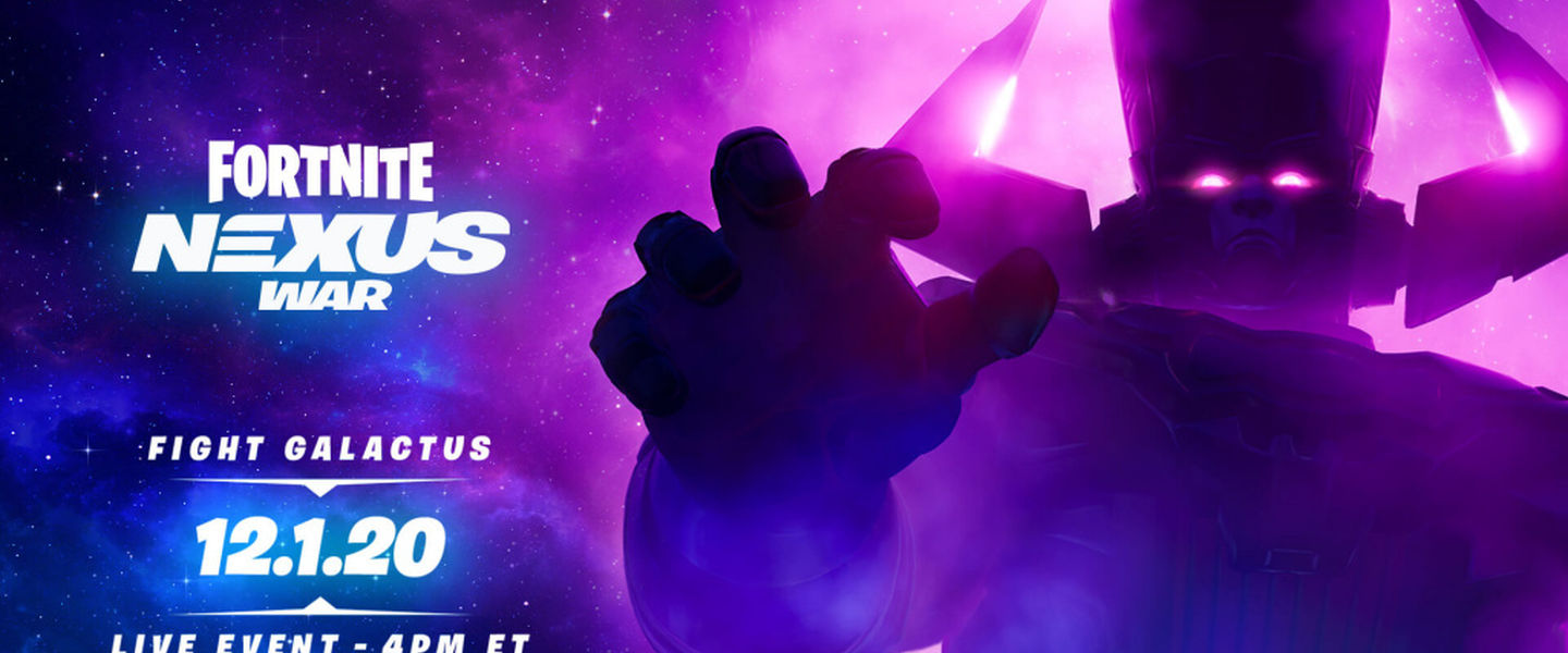 Evento de Fortnite y Galactus