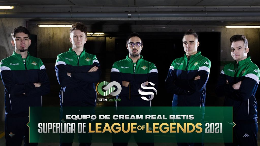 Plantilla de Cream Real Betis para la Superliga 2021 - Movistar eSports